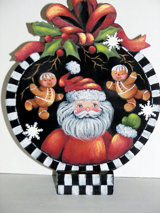 Santa and Friends Ornament with base 256