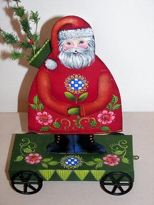 Santa Pull Toy 255