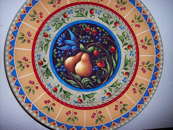 Folk Art Bowl 154