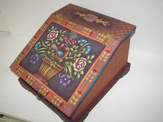 Folk Art Letter Box 143