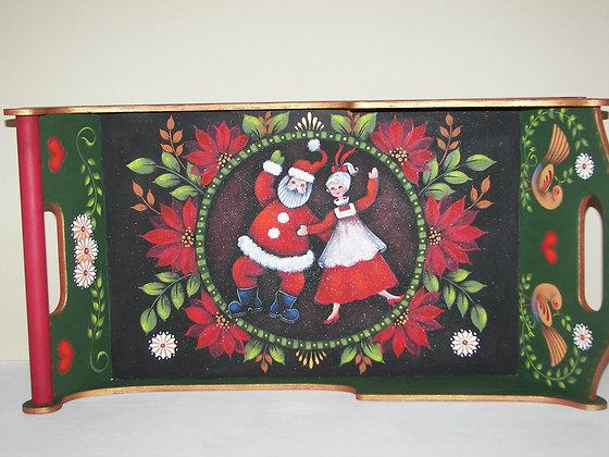 Dancing Santa Sleigh 208