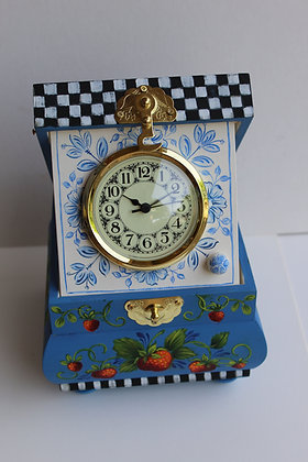Strawberry Clock Box 282