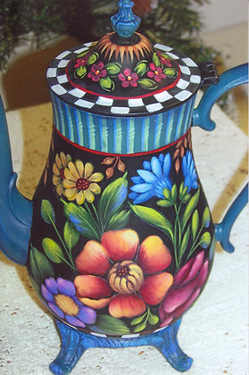 Flowers & Fun Coffee Pot 235