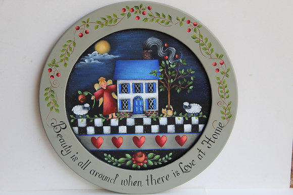 Home and Heart Plate 288