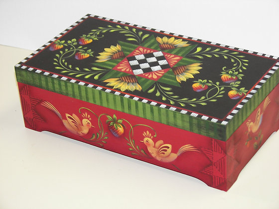 Mini Quilt Box 261
