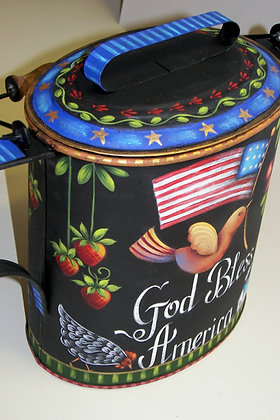 God Bless America Kettle 246