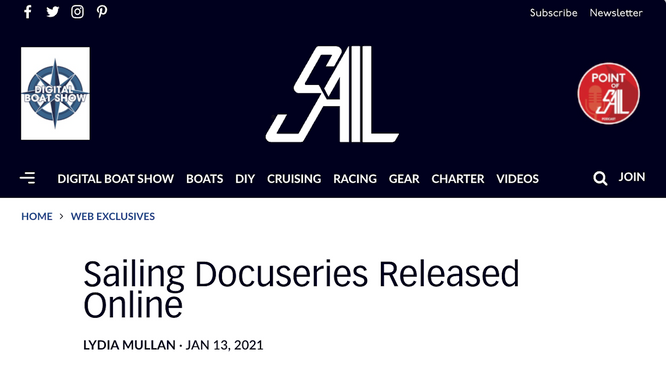 SAIL Magazine, a new podcast interview and our docuseries.