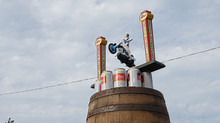 4th of July, Evel Knievel jump that you can drink too!