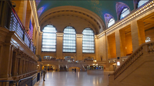 Photo of Grand Central Terminal empty during COVID-19 shutdown