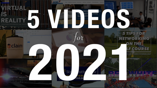 5 ESSENTIAL VIDEOS FOR 2021