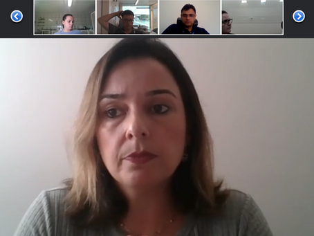 Reunião virtual reuniu 13 clientes para falar de coronavírus