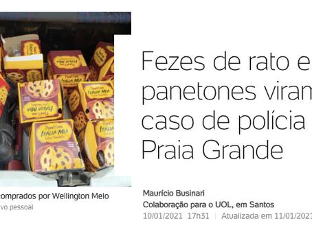 Casal encontra fezes de rato em panetones em Praia Grande (SP). Como evitar esse problema?