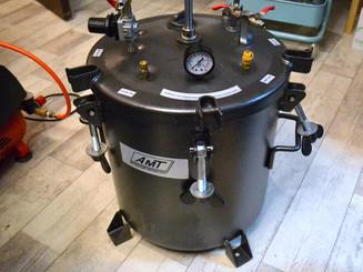 New pressure pot. BIG pressure pot!