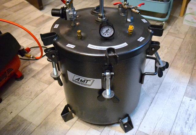 New pressure pot