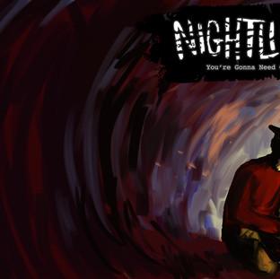 Night Light Outside Cover
