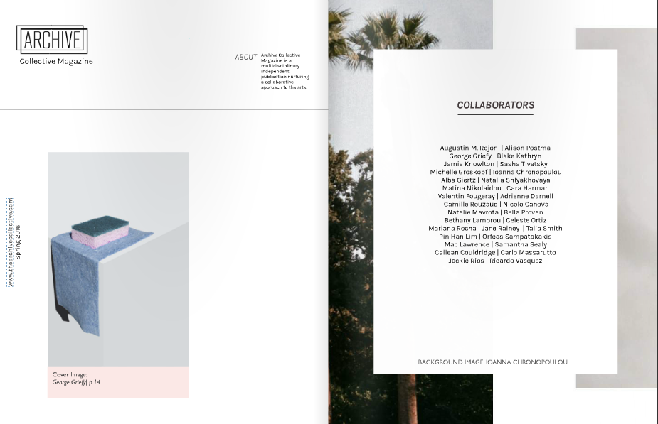 Archive Collective Magazine