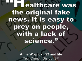 Favorite Quotes from Anne Wojcicki at TechCrunch Disrupt SF