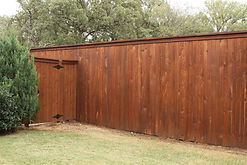 Fence Restoration Staining Custom