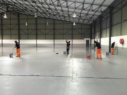 Coating a floor