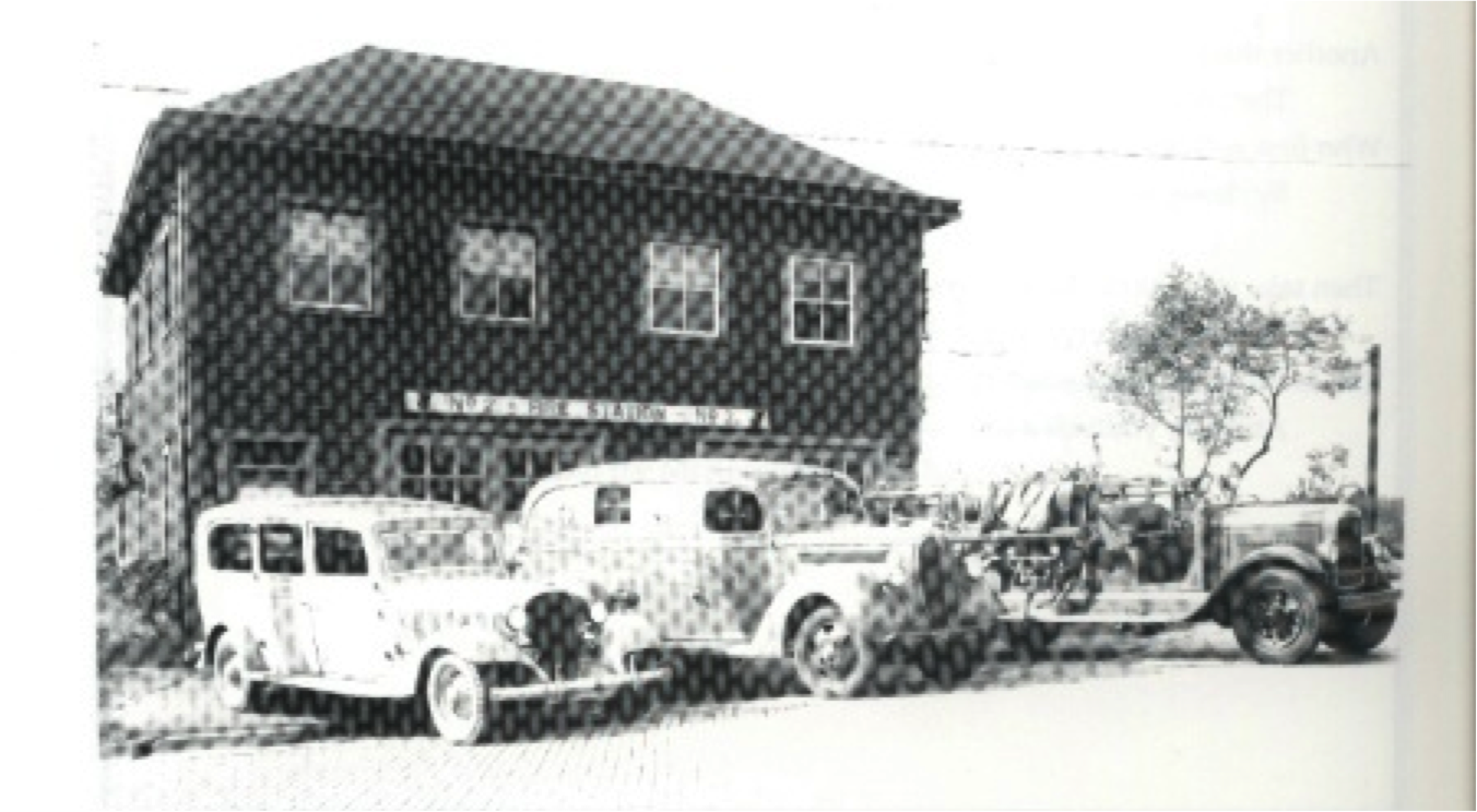 Volunteer Firehall 2 circa 1945