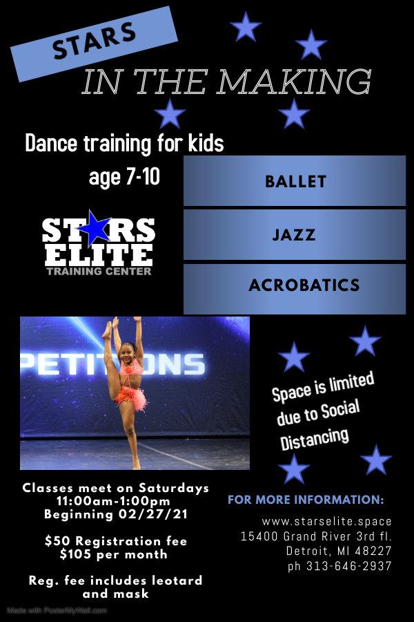 Copy of Dance Classes Flyer Template - M