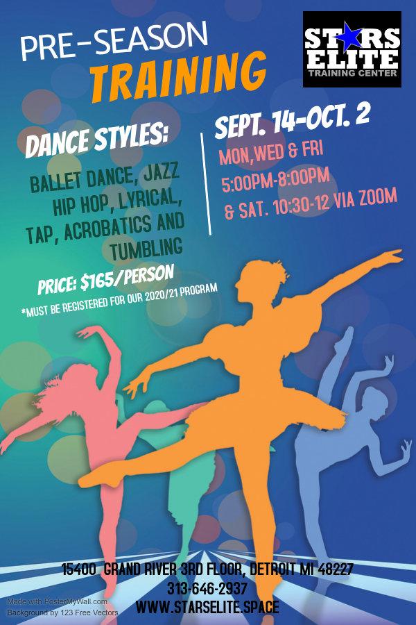 Copy of Dance School Poster Template - M