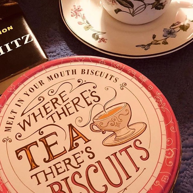Tea and English biscuits...