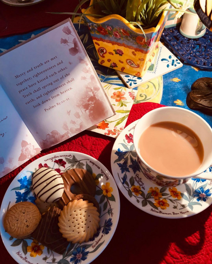 Tea time and a book .png