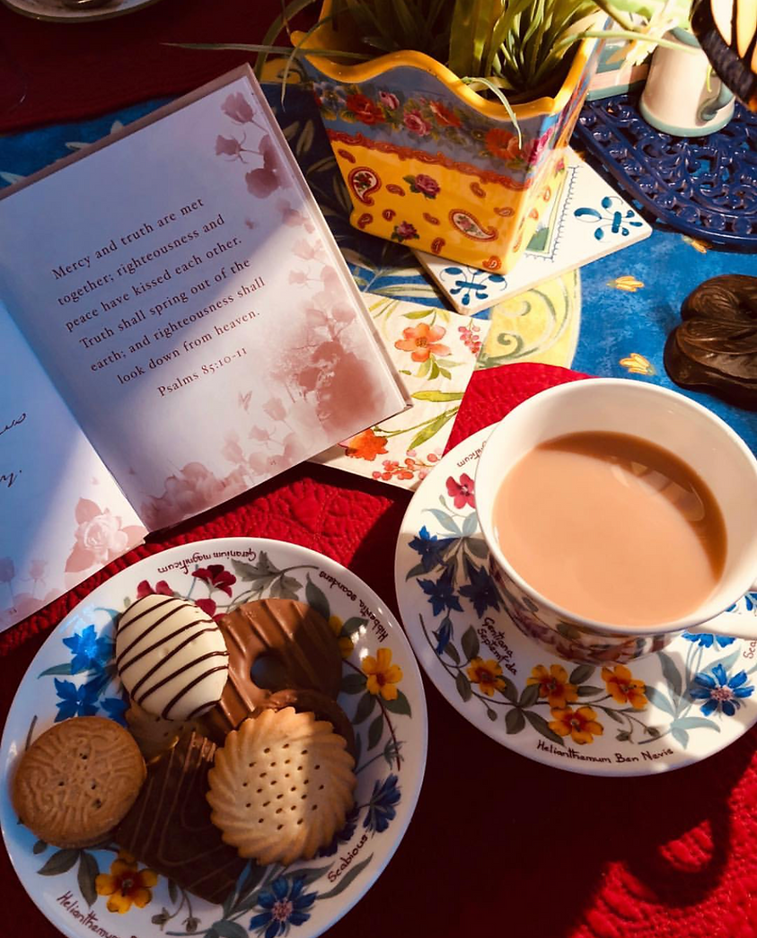English Tea and Biscuits a delight