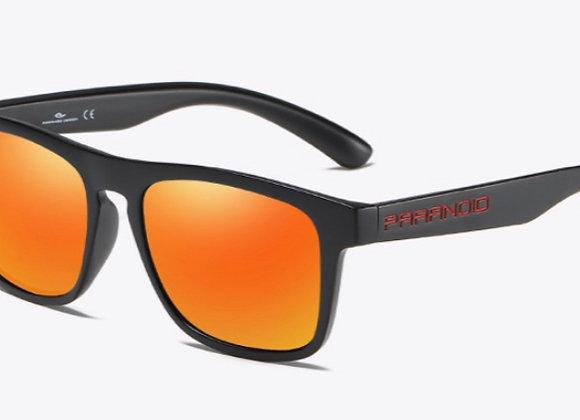Paranoid Skin Sunglasses -Orange