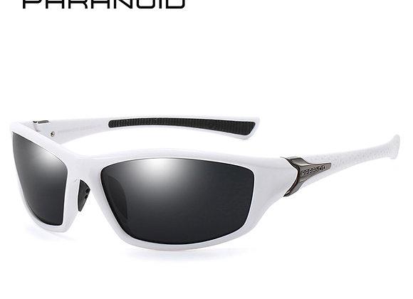 Paranoid Jacket Sunglasses - WHITE