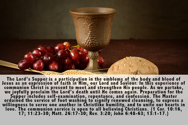 16. The Lord's Supper