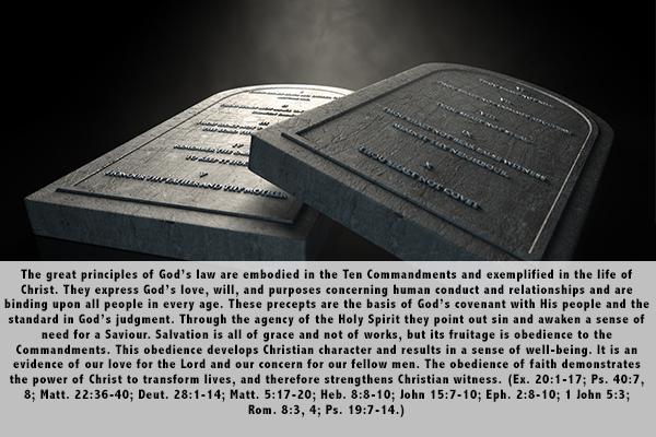 19. God's Law