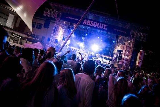 VIP Area Velden White Nights Weißes Fest  Velden