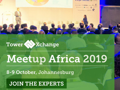 TowerXchange Meetup Africa on the 8 October 2019 @ 17H00