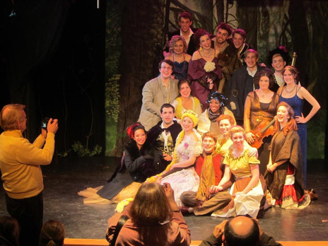 """Wright State University's Acting & Musical Theatre Class of 2013 Presents """"Into the Woods"""""""