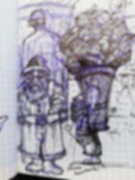 dessin S.Clement le tout petit pere noel
