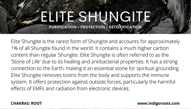 Elite Shungite
