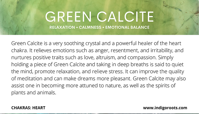 GreenCalcite