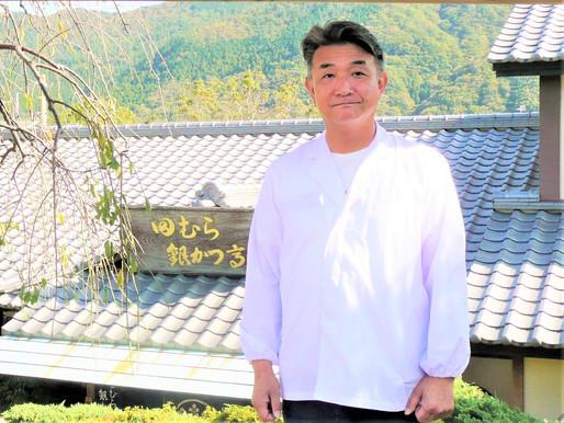 オリジナルメニュー「豆腐かつ煮定食」が大人気!田村洋一(たむら よういち)さん 田むら銀かつ亭代表取締役