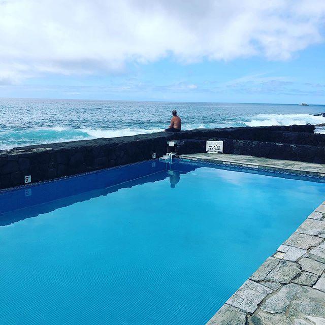 Social distancing at the Kona Tiki Hotel