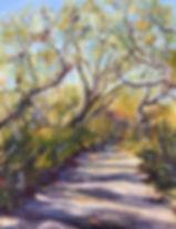June Klement Cumberland Island Path.jpg