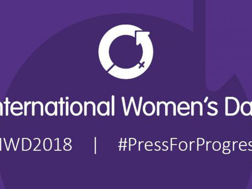 #PressforProgress March 8th, International Women's Day