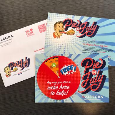 interactive postcard design