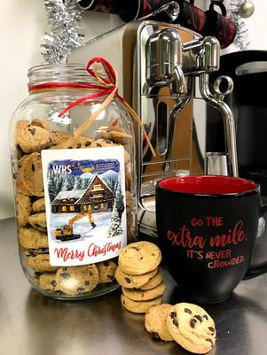 cookie jar and mug