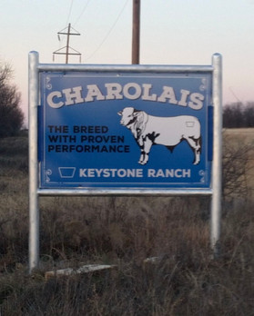 cattle ranch sign design
