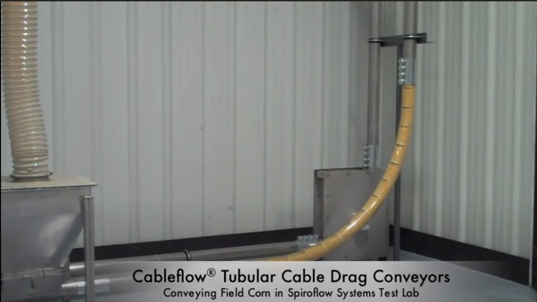Video of Cable Drag Conveyor