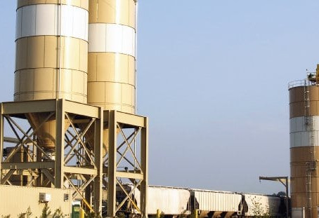Fly Ash Storage in Silos and Domes
