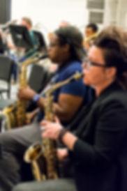 Ferndale Community Concert Band Rehearsal