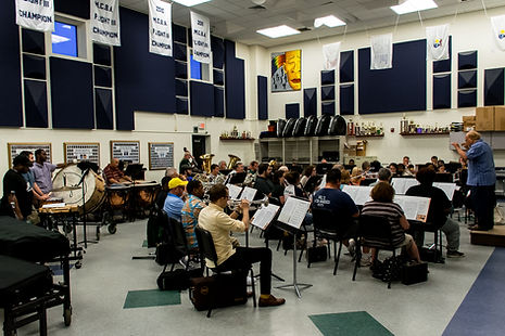 Ferndale Community Concert Band Rehearsal